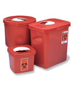 Sharps Multi-Purpose Containers with Rotor Lids