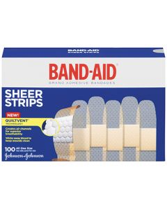 Band-Aid Sheer Strip Bandages