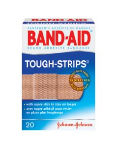 Johnson & Johnson BAND AID Tough Strips