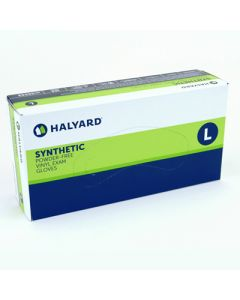 Halyard Synthetic Plus Vinyl Exam Gloves Powder-Free