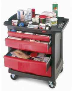 RubberMaid Utility Cart - 5 Drawer
